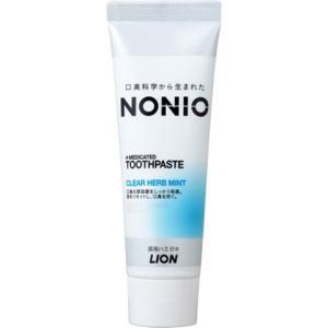 ライオン ノニオ NONIOハミガキ クリアハーブミント 130g/ ノニオ 歯磨き粉 (毎)