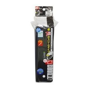 レック SMT スリム2段ランチボックス 820ml ブラック 1個 /弁当箱