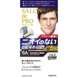 サロンドプロ 無香料メンズクリーム 6A 40g+40g/ サロンドプロ 白髪染め ヘアカラー 男性...