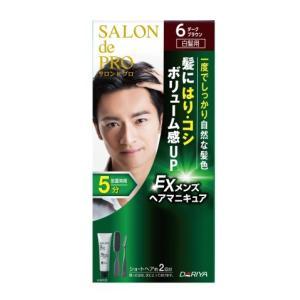サロンドプロメンズヘアマニキュア6 90g/ サロンドプロ 白髪染め ヘアカラー