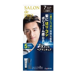 サロンンドプロメンズヘアマニキュア7 90g/ サロンドプロ 白髪染め ヘアカラー