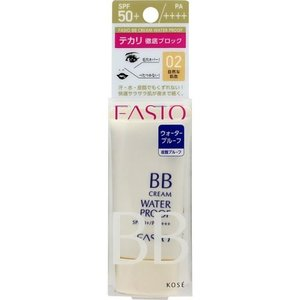 コーセー ファシオ BBクリーム ウォータープルーフ 自然な肌色 30g/ ファシオ クリームファンデーション v-drug