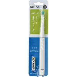 オムロン 音波式電動歯ブラシ HT−B221−W 1本 /オムロン 電動歯ブラシ|v-drug