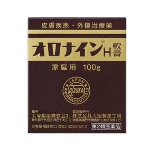 (第2類医薬品)大塚製薬 オロナインH軟膏 100g/ オロナイン 皮膚の薬 (毎)