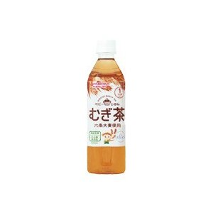 和光堂 ベビーのじかん むぎ茶 500ml (24本セット 1ケース)