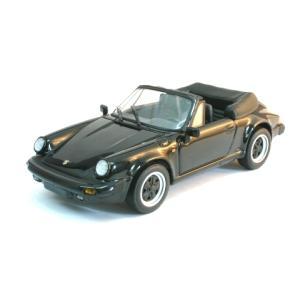 ポルシェ 911 カレラ カブリオレ 1983 ブラック (1/43 ミニチャンプス430062034)|v-toys