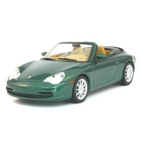 ポルシェ 911 カブリオレ 2001 グリーンM (1/43 ミニチャンプス400061032)|v-toys