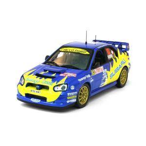 スバル インプレッサ WRC No63 2004 モンテカルロラリー8位 (1/43 イクソRAM144)|v-toys