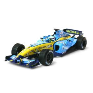 ルノー F1チーム ショーカー 2005 G・フィジケラ (1/43 ミニチャンプス400050076)