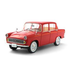 トヨペット コロナ (PT20) 1960 レッド (1/43 エブロ43679)|v-toys