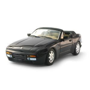 ポルシェ 944 カブリオレ 1991 ブラック (1/43 ミニチャンプス400062232)