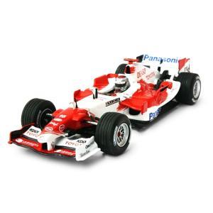 パナソニック トヨタ レーシング TF105 J・トゥルーリ (1/43 ミニチャンプス400050016)