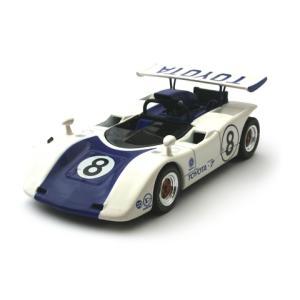 トヨタ 7 No8 1969 日本カンナム ブルー (1/43 エブロ43713) v-toys