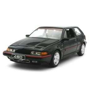 ボルボ 480 ES 1986 ブラック (1/43 ミニチャンプス400171520)|v-toys