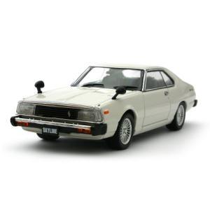 ニッサン スカイライン GT-E 1980 ホワイト (1/43 エブロ43758)|v-toys