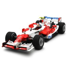 パナソニック トヨタ レーシング TF105 2005 テストドライバー R・ゾンタ (1/43 ミニチャンプス400050038)