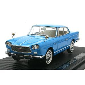 プリンス スカイライン スポーツ クーペ 1962 ブルー (1/43 エブロ43705)|v-toys