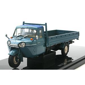 マツダ T2000 3輪トラック 1962 ブルー (1/43 エブロ43848)|v-toys