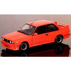 BMW M3 ストリート チェコット (CECOTTO) 1989 レッド (1/18 ミニチャンプス180020304)