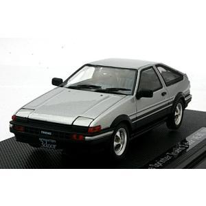 トヨタ スプリンター トレノ AE86 1983 シルバー (1/43 エブロ43820)|v-toys