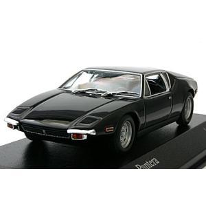 デトマソ パンテーラ 1972 ブラック (1/43 ミニチャンプス400127501)