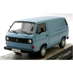 フォルクスワーゲン T3 ボックスバン ブルー (1/43 エブロPCX11401) v-toys