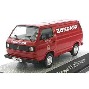 フォルクスワーゲン T3 ボックスバン 「Zundapp KS50」 レッド (1/43 エブロPCX11402)|v-toys