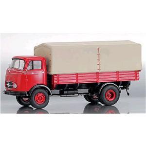 メルセデスベンツ LP911 ピックアップトラック レッド (1/43 エブロPCX12152)|v-toys
