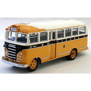 キャブ オーバー バス (群馬) イエロー/ホワイト (1/43 エブロ44099)|v-toys