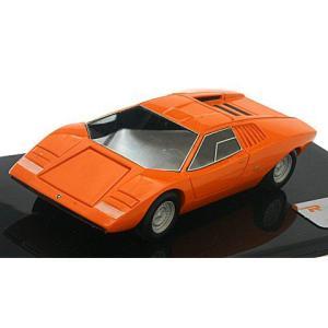 ランボルギーニ カウンタック LP500 プロトタイプ 1971 オレンジ (1/43 リアルイノベーションモデルRIM71052)|v-toys