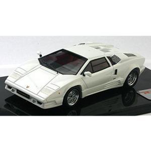 ランボルギーニ カウンタック 25th アニバーサリー パールホワイト (1/43リアルイノベーションモデル RIM71042)|v-toys