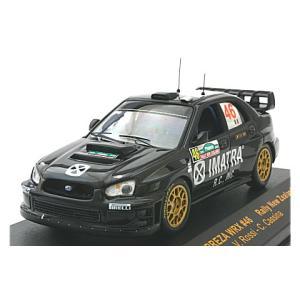 スバル インプレッサ WRX No46 2006 ラリー・ニュージーランド11位 (1/43 イクソRAM256)|v-toys