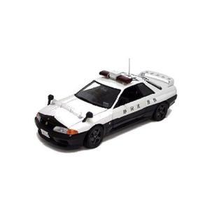 ニッサン スカイライン GT-R (R32) 静岡県警 (1/18 京商K08366B)|v-toys
