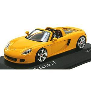 ポルシェ カレラ GT 2003 イエロー (1/43 ミニチャンプス400062634) v-toys