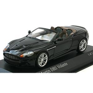 アストンマーチン DB9 ボランテ 2009 ブラック (1/43 ミニチャンプス400137930)|v-toys
