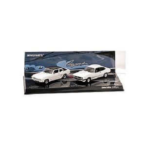 フォード カプリ 40周年 アニバーサリー2台セット(I+III) (1/43 ミニチャンプス402080103)|v-toys