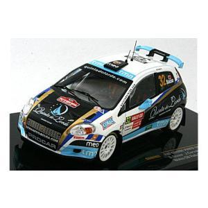 フィアット グランデ プント S2000 No32 2009 ラリー・GB (1/43 イクソRAM403)|v-toys