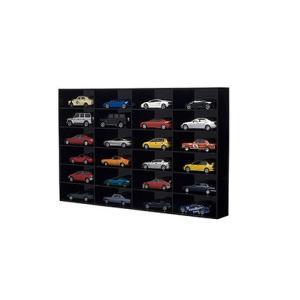 AUTOart 1/43スケール×24台用 ブラック スライドドア無   (1/43 オートアート90031)|v-toys