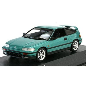 ホンダ CR-X 1989 グリーンM (1/43 ミニチャンプス430161571)