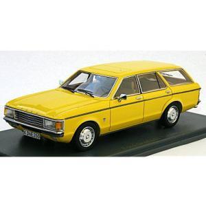 フォード グラナダ 1972-77 イエロー (1/43 NEO44250)|v-toys