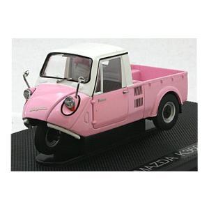 マツダ K360 1962 ピンク/ホワイト (1/43 エブロ44412)|v-toys