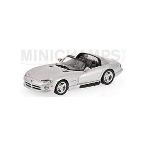 ダッジ バイパー カブリオレ 1993 シルバー (1/43 ミニチャンプス430144034)|v-toys
