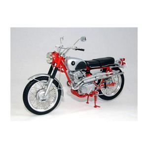 ホンダ CL72 1962 エクスポート レッド (1/10 エブロ10011)|v-toys