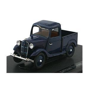ダットサン 17型 トラック ダークブルー (1/43 エブロ44348)|v-toys