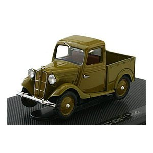 ダットサン 17型 トラック ブラウン (1/43 エブロ44349)|v-toys