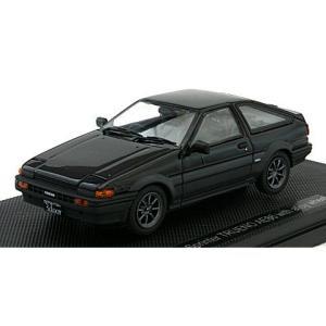 トヨタ スプリンター トレノ AE86 (アロイホイール) ブラック (1/43 エブロ44494)|v-toys
