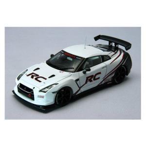 ニッサン ニスモ GT-R RC ホワイト (1/43 エブロ44442) v-toys
