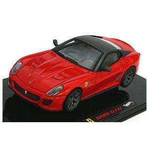 フェラーリ 599GTO レッド/ルーフ:グレーシルバー (エリートシリーズ) (1/43 マテルMT6267T)|v-toys