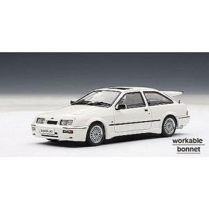フォード シエラ コスワース ホワイト (1/43 オートアート52862)|v-toys