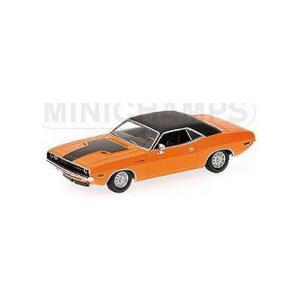 ダッジ チャレンジャー 1970 オレンジ (1/43 ミニチャンプス400144701)|v-toys